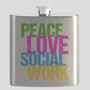 Social Work Cute Flask