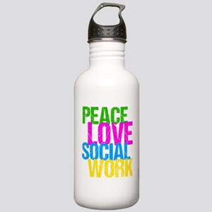Social Work Cute Stainless Water Bottle 1.0L