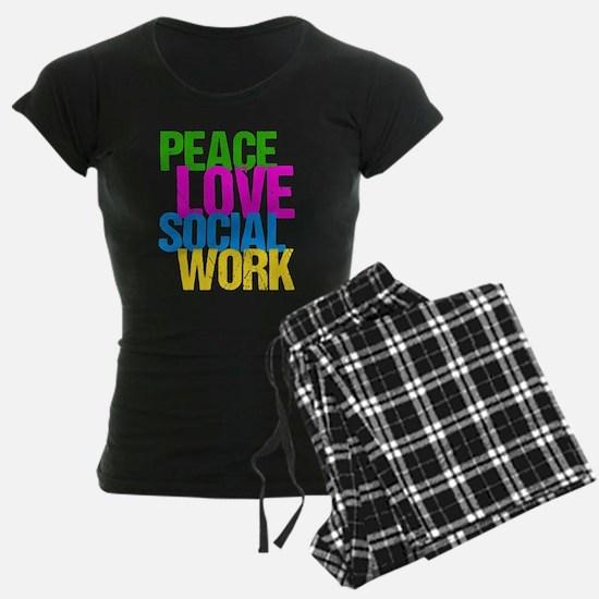 Social Work Cute Pajamas