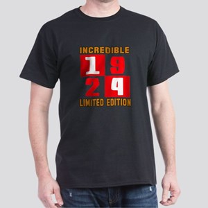 Incredible 1924 Limited Edition Dark T-Shirt