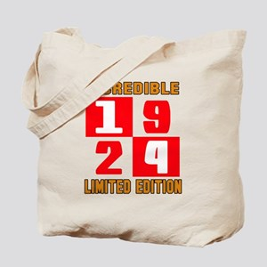 Incredible 1924 Limited Edition Tote Bag