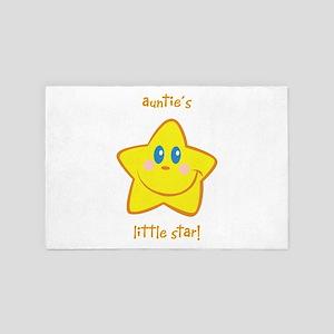 Auntie's Little Star 4' X 6' Rug