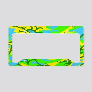 Spring Meadow Camo License Plate Holder