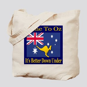Come To Oz It's Better Down U Tote Bag