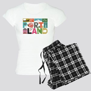 Unique Portland - Block by Women's Light Pajamas