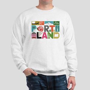 Unique Portland - Block by Block Sweatshirt