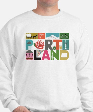 Unique Portland - Block by Block Sweatshirt