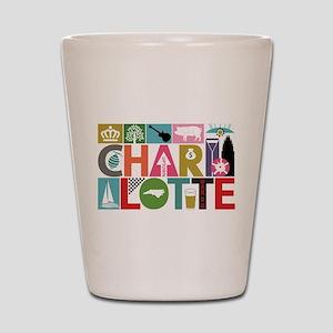 Unique Charlotte - Block by Block Shot Glass