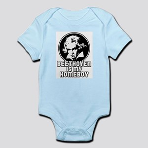 Beethoven is my Homeboy Infant Bodysuit