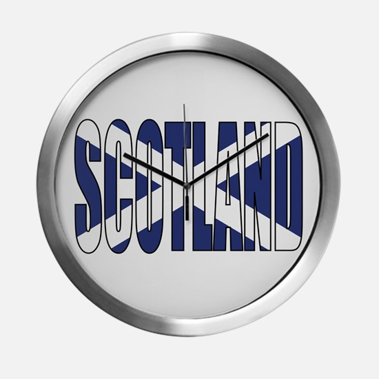 Scotland Modern Wall Clock