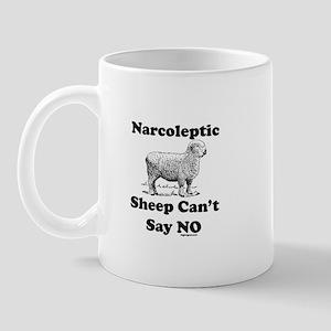 Narcoleptic Sheep Can't Say N Mug