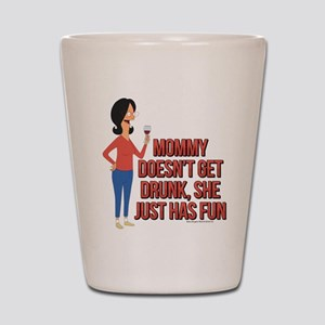 Bob's Burgers Linda Wine Shot Glass