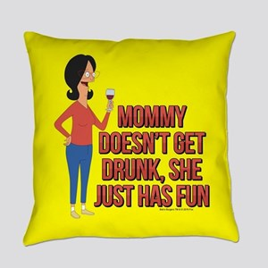 Bob's Burgers Linda Wine Everyday Pillow
