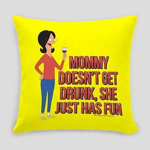 Bob's Burgers Linda Wine Everyday Pillow