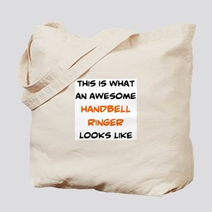 awesome handbell ringer Tote Bag