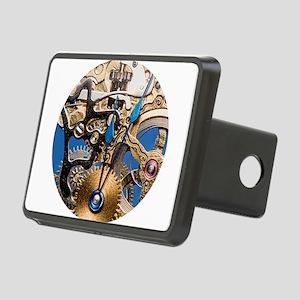 Skeleton Pocket Watch Rectangular Hitch Cover