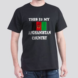 This Is My Afghanistan Country Dark T-Shirt