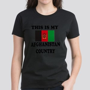 This Is My Afghanistan Countr Women's Dark T-Shirt
