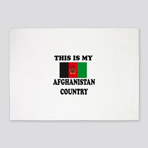 This Is My Afghanistan Country 5'x7'Area Rug