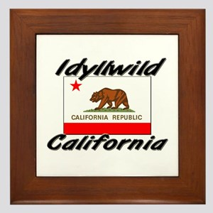 Idyllwild California Framed Tile