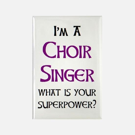 choir singer Rectangle Magnet