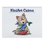 KiniArt Cairn Terriers Wall Calendar