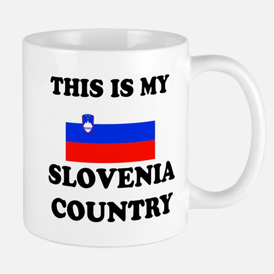 This Is My Slovenia Country Mug