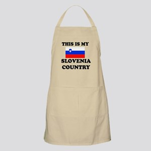 This Is My Slovenia Country Apron