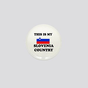 This Is My Slovenia Country Mini Button