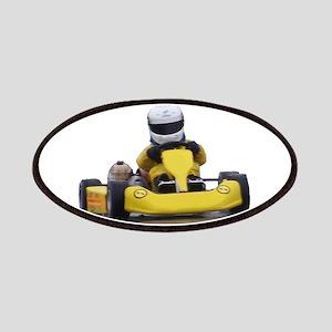 Kart Racing Yellow Kid Kart Patch