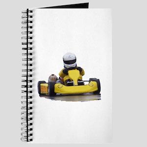 Kart Racing Yellow Kid Kart Journal