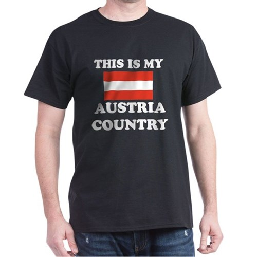 This Is My Austria Country T-Shirt