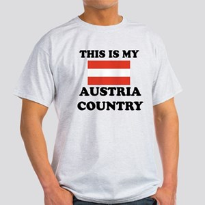 This Is My Austria Country Light T-Shirt