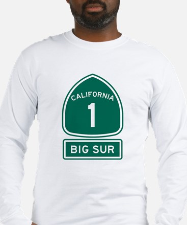 Big Sur California Long Sleeve T-Shirt