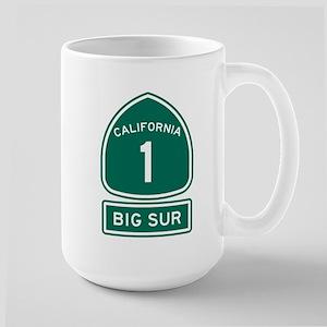 Big Sur California Large Mug