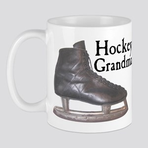 Hockey Grandma Vintage Mug