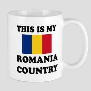 This Is My Romania Country Mug