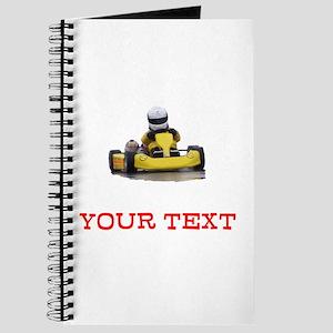 Customizable Yellow Kid Kart Journal