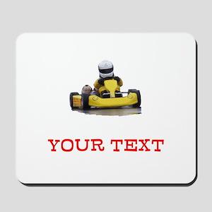 Customizable Yellow Kid Kart Mousepad