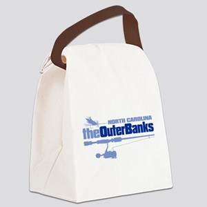 Outer Banks Canvas Lunch Bag