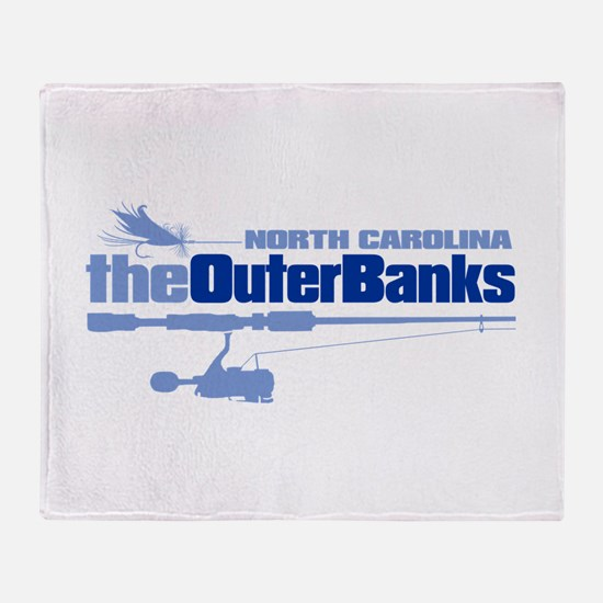 Outer Banks Throw Blanket