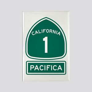 Pacifica California Rectangle Magnet