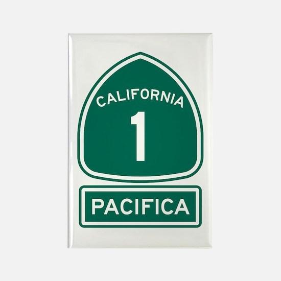 Pacifica California Rectangle Magnet