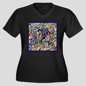 Basic Language Plus Size T-Shirt