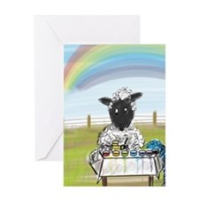 Dyeing Day Greeting Cards