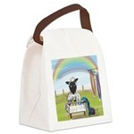 Dyeing Day Canvas Lunch Bag