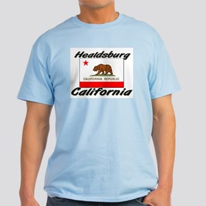 Healdsburg California Light T-Shirt