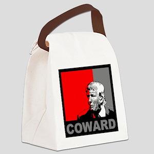 Trump/Drumpf: Coward Canvas Lunch Bag