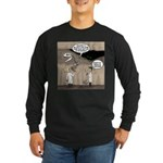 Archaeological Discovery Long Sleeve Dark T-Shirt