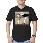 Archaeological Discove Men's Fitted T-Shirt (dark)